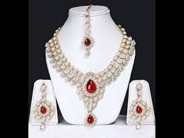 artificial imitation necklace designs traditional imitation jewellery designs