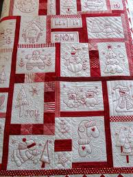 Redwork | Wall hangings, Zip and Walls & Embroidery · My Mother would have loved this idea! She made a baby quilt  using reds. Adamdwight.com