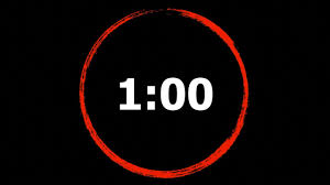 1 Minute Countdown 1 Minute Countdown Timer High Quality