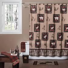 Shower Curtains Cabin Decor Bathroom Decor Shower Curtains Woodland Decor Shower Curtain Set