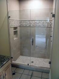 unique frameless shower door sample image