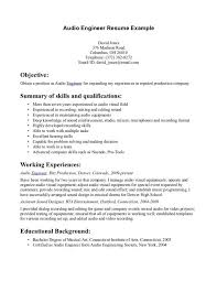 Write A Clever Audio Visual Technician Resume Examples Plus Objective  Statements 6 Audio Visual Technician Resume ...