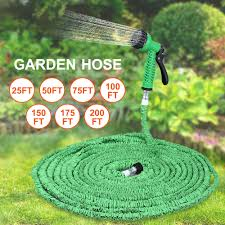 200 ft garden hose. HOT SALE 25FT 200FT 7 In 1 Spray Gun Garden Hose Expandable Magic Flexible Expanding Water Hoses Pipe Watering Latex Tube-in \u0026 Reels From Home 200 Ft T