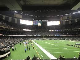 Superdome Section 132 New Orleans Saints Rateyourseats Com