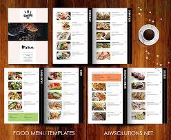 Menu Design Template Restaurant Menu Template Brochure Templates Creative Market 3