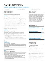 Technical Support Skills List Help Desk Resume Example And Guide For 2019