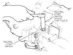 need 2002 suburban neutral safety switch diagram fixya removing the aod neutral start switch