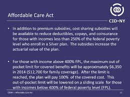 Affordable Care Act Poverty Level Chart Ppt Affordable Care Act Powerpoint Presentation Free