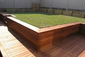 Small Picture Timber retaining wall Outdoor spaces Pinterest Retaining