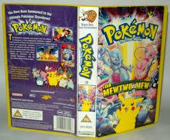 Pokemon The First Movie - Children's VHS Tape & Case. VHS ...