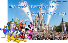 Disney Fun Facts How Many People Go To Disney World A Day