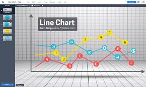 Animated Line Chart Template Designed Arhistratig
