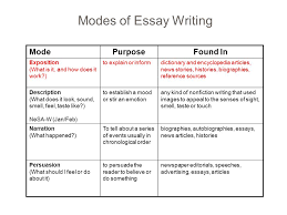 essay writing expository essay character analysis ppt video modes of essay writing mode purpose found in exposition