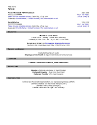 Certified Case Manager Resume Free Federal Resume Sample From Resume Prime