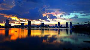 korea seoul city han river night
