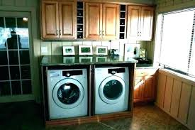 washer dryer countertop shelf over washer dryer counter top load for and above under countertop ideas washer dryer
