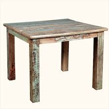 Distressed Wood Kitchen Table Reclaimed Pine Dining Table Spark S Reclaimed Teak Wood Dining