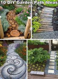 Small Picture 10 Unique and Creative DIY Garden Path Ideas Creative Ideas for