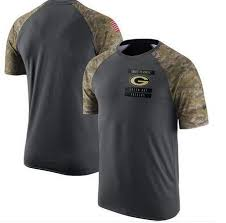 - Green Camiseta To Packers Service Salute Bay