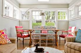 nice mismatched dining chairs