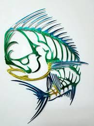 fish wall sculpture metal fish wall art sculptures wall art metal wall art aluminum wall art