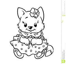 Small Picture Cat And Kitten Coloring Pages Cute Kitten Coloring Pages Free