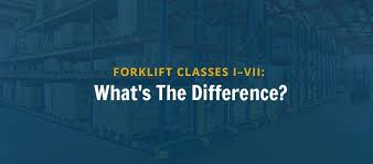 Forklift Classifications Chart Types Of Forklifts Features Benefits Forklift