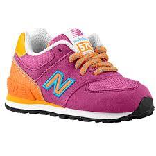 new balance shoes for girls pink. new balance 574 - girls\u0027 toddler running shoes pink/orange for girls pink