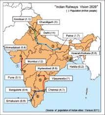 indian railway map 2020
