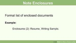 how to end a cover letter 15 steps with pictures wikihow e73dc1a0