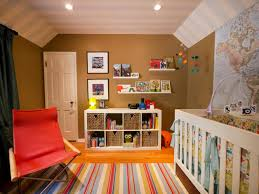 Blue and Orange Nursery