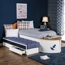 Kids Beds Voyager CM7768F-BED Novelty Full Bed with Trundle Bed (Bed ...