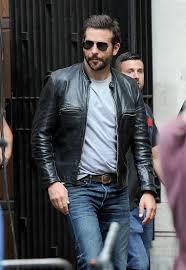 bradley cooper burnt leather jacket 1