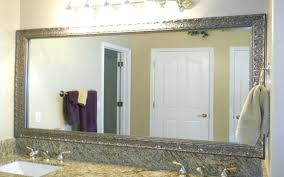 white bathroom wall mirror bathroom mirror decorative trim framing a bathroom mirror with moulding