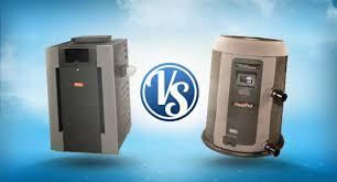 Swimming Pool Heater VS. Heat Pump