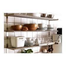 ikea kitchen shelf metal wall shelf stainless steel cm ikea kitchen wall shelves metal