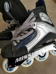 New Mission Vibe 2 Mens Roller Hockey Skates Size 8 Womens 9 5 Ebay