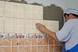 nice ceramic tile installation how to install wall tile howtospecialist how to build step