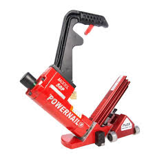 powernail pneumatic 18 gauge flex power roller hardwood flooring cleat nailer