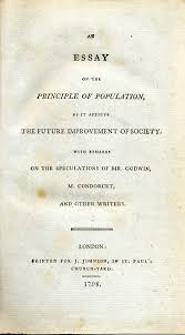 the dismal science canadian history pre confederation malthus and the agricultural revolution a cover page of an essay