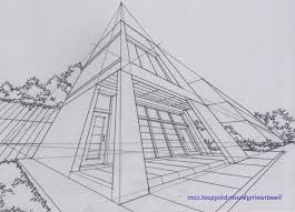 perspective drawings of buildings.  Buildings Perspective Of Buildings Ideas A Drawing Modern Concept  Throughout Drawings