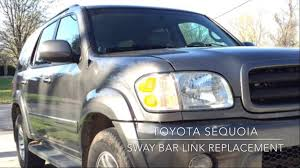 Toyota Sequoia Sway Bar Link Replacement - YouTube