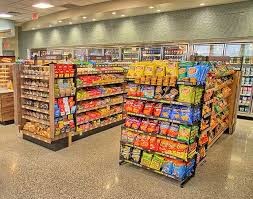 examples of our grocery shelving work