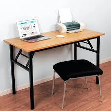 beautiful folding computer desk for house design need office table workstation no install needed winsome with