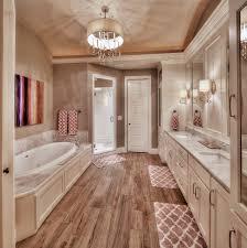 Hardwood Floor Bathroom Beautiful Master Bath Love The Hardwood Tiles Gorgeous Shower
