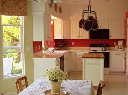 Red Birch Cabinets Kitchen Red Glass Tile Backsplash Pictures Mosaic Tiles Birch In Red