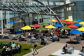 the tech giant may have the best office in the world googles space is more of a college campus than an office employees can enjoy a free meal at the best google office