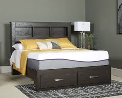 Ashley Furniture Reylow Storage Bed in Dark Brown, Queen