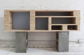 modern furniture diy. homemade modern diy ep2 media console step 4 furniture diy