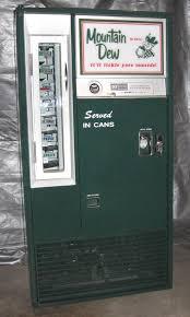 Vintage Mountain Dew Vending Machine Delectable Restored Vintage 48's Mountain Dew Vendo Vendo 48 Machine Old